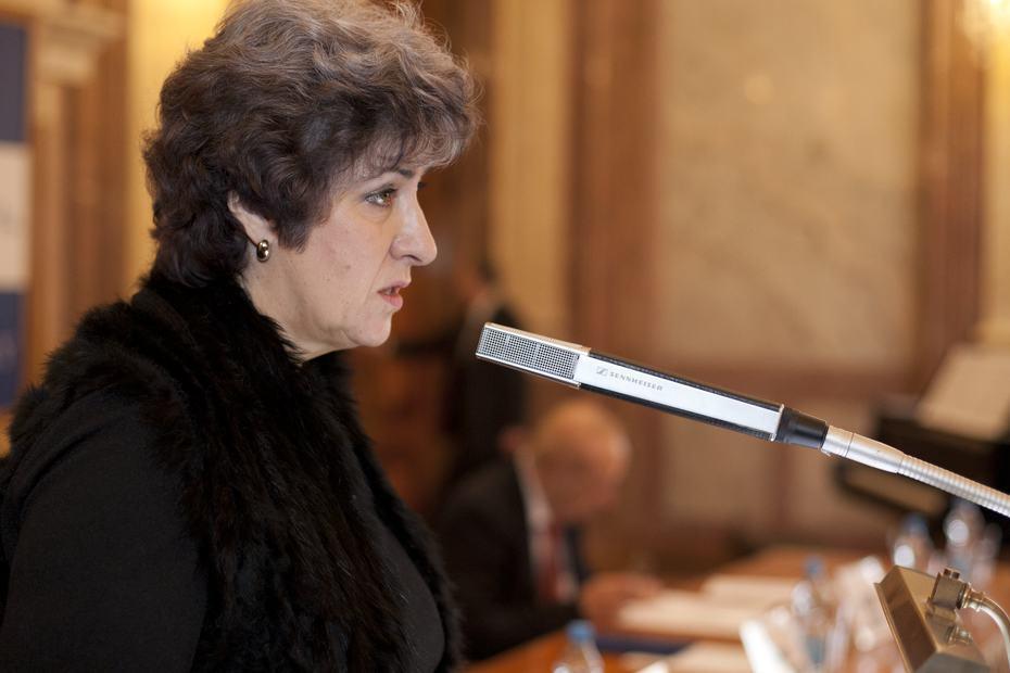 Alena Gajdůšková, 1. místopředsedkyně Senátu PČR