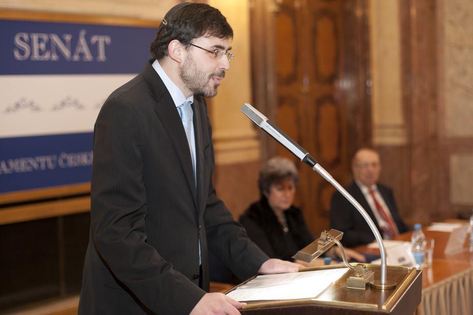 Petr Papoušek, předseda Federace židovských obcí v ČR