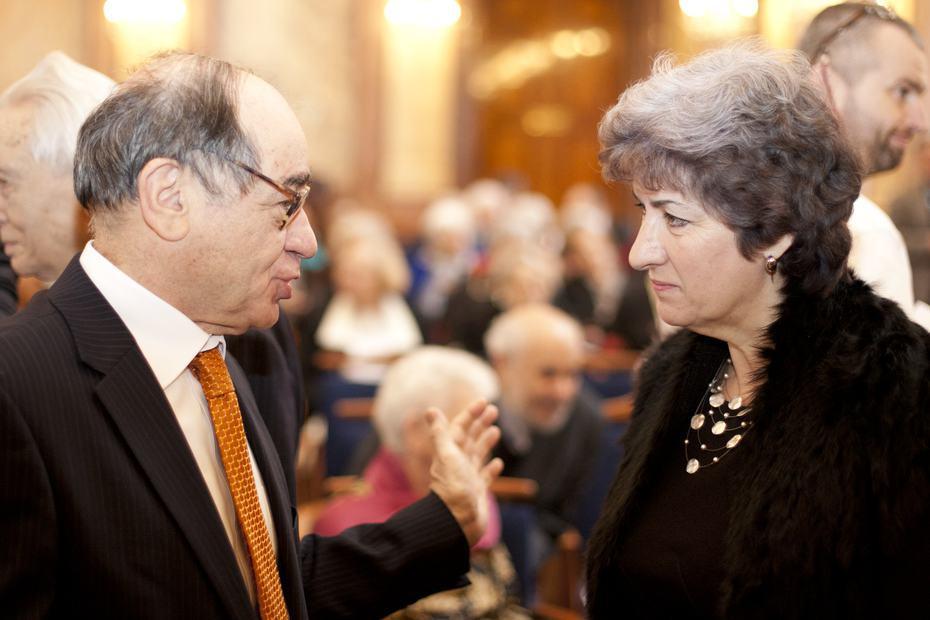 Jaakov Levy s Alenou Gajdůškovou