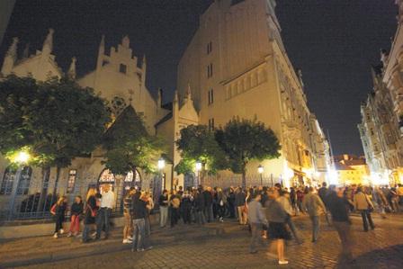 Z Pražské muzejní noci v Židovském muzeu