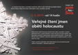 Jom ha-šoa, veřejné čtení jmen obětí holocaustu