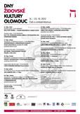 Dny židovské kultury Olomouc 2012