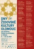 Jedenáctý ročník Dnů židovské kultury Olomouc: od Masarykovy nezapomenutelné cesty až po Klezmer Band